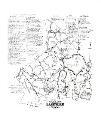 Lakeville MA Gravestone Inscriptions Book DVD